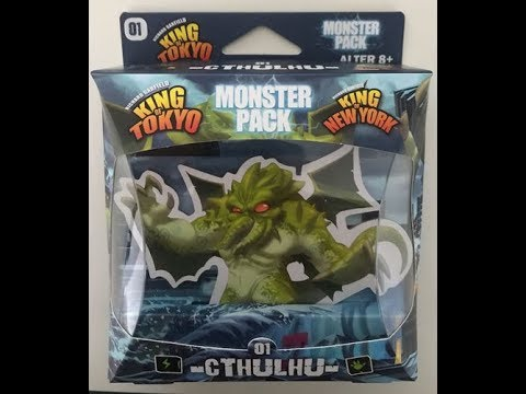 The Purge: # 1703 King of Tokyo/New York: Monster Pack - Cthulhu: The First Character Pack to Add Even More Content to your Game