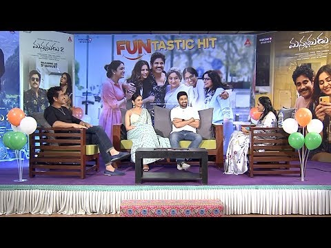 Manmadhudu 2 Movie Team Interview