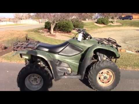 2007 Honda FourTrax® Rancher™ 4x4 in Boise, Idaho - Video 1