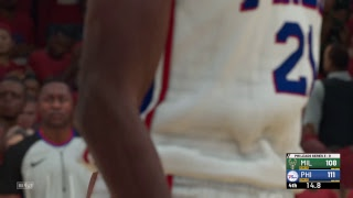 Yr 1 Playoffs Rd 1 Gm 4: Bucks @ 76ers (3-0 PHI)