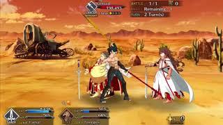 Gaius Julius Caesar  - (Fate/Grand Order) - Caesar Solo vs Diarmuid - E Pluribus Unum [FGO NA]