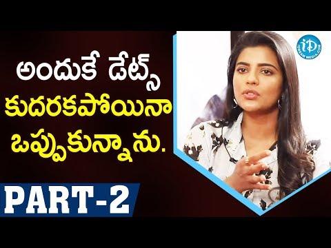 Miss Match Movie Actors Aishwarya Rajesh & Uday Shankar Part #2   Talking Movies With iDream