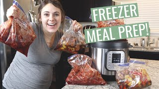 21 Instant Pot Freezer Meals & 37 Weeks Pregnant! DITL Vlog