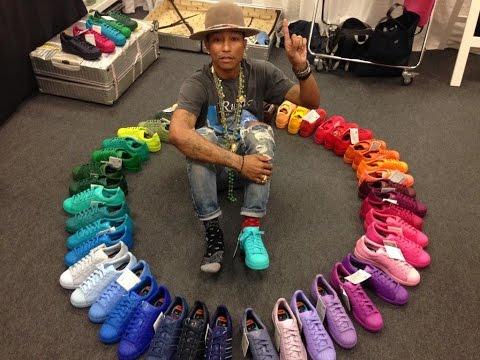 Pharell vuelve con colección única para Adidas 'Supercolor'