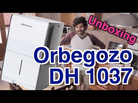 ORBEGOZO DH 1037 deshumidificador - Apertura