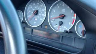 BMW e39 M5 Launch 0 -110mph