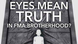 Gambar cover Eyes Convey Truth in Fullmetal Alchemist: Brotherhood