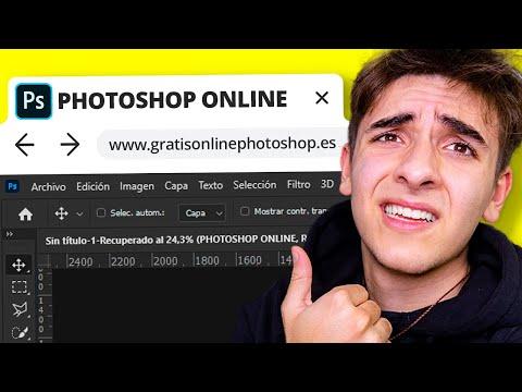 ¡Existe un PHOTOSHOP ONLINE GRATIS!