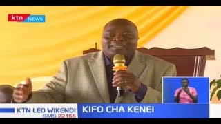 Baadhi ya viongozi wa Magharibi wamsuta DCI Kinoti \'kwa kushindwa kuwashika waliomuua Sajenti Kenei