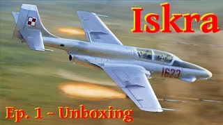 Model Iskra TS-11 - 1/72 Arma Hobby - Unboxing