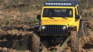 Тест-драйв нового Jeep Rubicon на шасси MST CFX-W