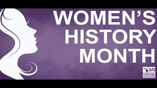 Women's History Month: Trailblazers