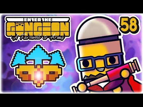 Crown of Guns Synergy | Part 58 | Let's Play: Enter the Gungeon: Farewell to Arms | PC Gameplay