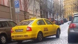 preview picture of video 'Taxi Prague in Czech Republic using turbo meter scam'
