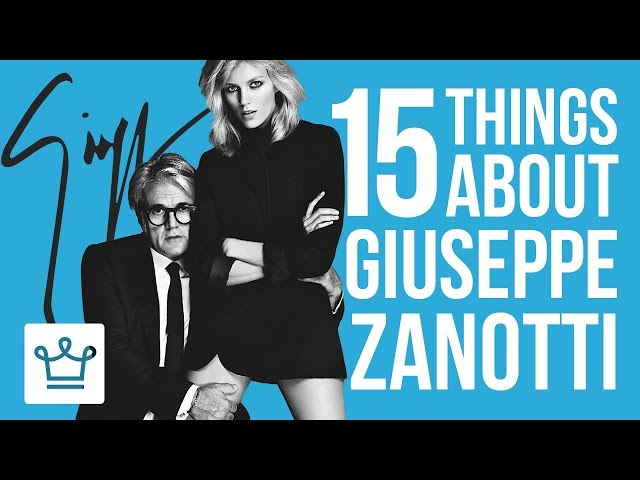 15 Things You Didn't Know About Giuseppe Zanotti