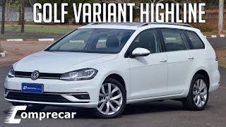 Ver o vídeo Avaliação: Golf Variant Highline