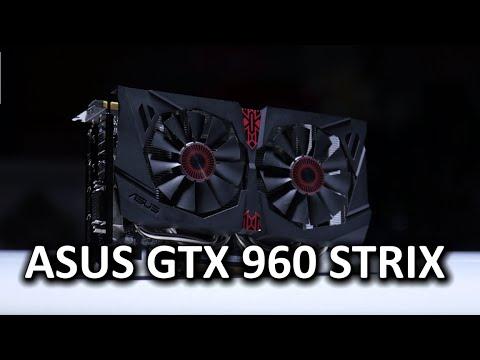 ASUS grafična kartica GeForce GTX 960 STRIX