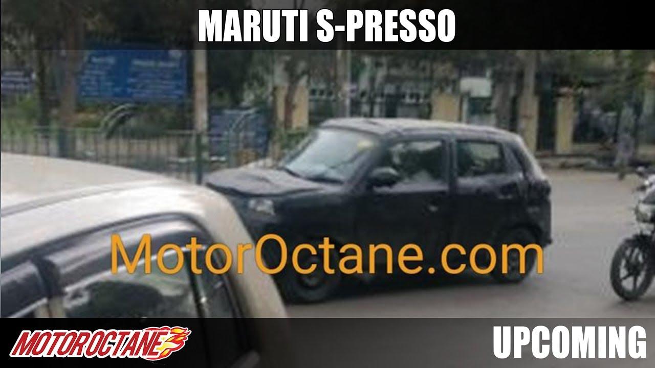 Motoroctane Youtube Video - Maruti S-Presso - All Details | Hindi | MotorOctane