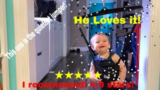 Jolly Jumper Review - Which is the best doorframe swing?