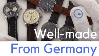 New 2018 Watch Releases From Top German Brands - Affordable & Well-made (not cookie cutter)