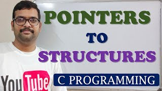 67 - POINTERS TO STRUCTURES - C POGRAMMING