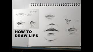 How To Draw Lips For Beginners And For Artists
