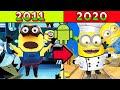 A Absurda Evolu o De Minion Rush 2011 2020 todas As Ver