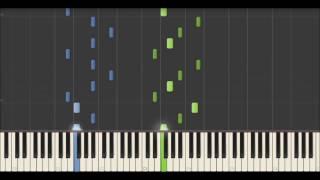 Yann Tiersen - A Midsummer Evening (Synthesia Tutorial)