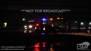 12-13-18, Strong Winds and Rain Cause Semi Truck Accident, Abilene TX