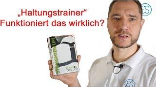 Haltungstrainer Blackroll Swedish Posture Geradehalter. Funktioniert das?