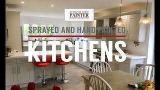 Sprayed and Hand Painted Kitchens around Suffolk and Essex