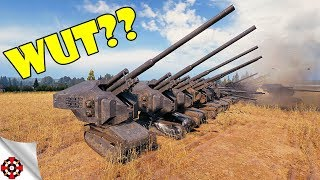 World of Tanks - MODDING MADNESS!   Waffenträger auf Loltraktor (WoT mod)