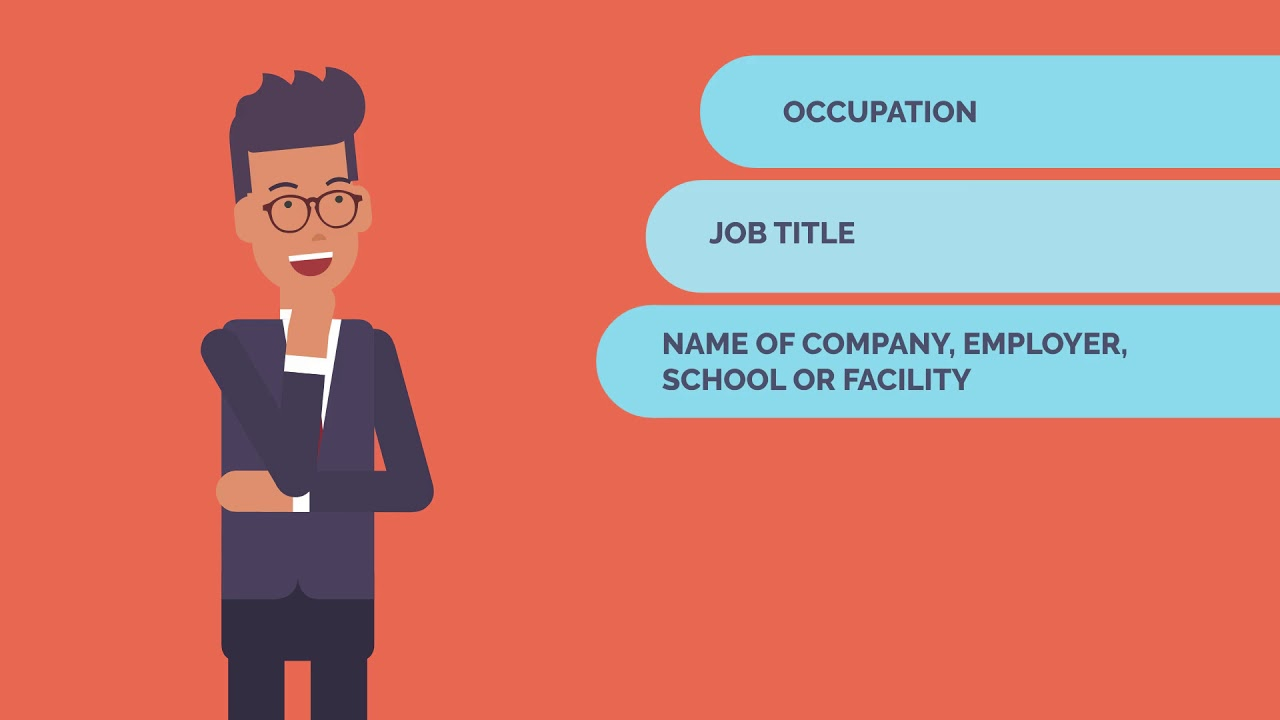 Why does the eTA application require employment information?