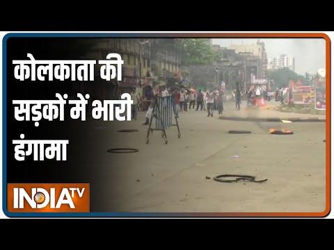 बंगाल में BJP नेता की हत्या पर बवाल, पुलिस का प्रदर्शनकारियों पर लाठीचार्ज, आज भी होगी रैली