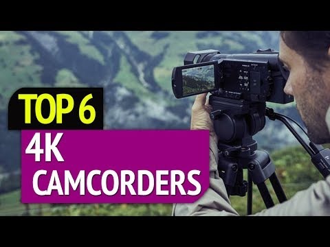 TOP 6: Best 4k Camcorders 2019