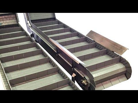 Video - Incline & Elevator Conveyors   Laughlin Conveyor
