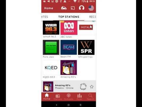 mytuner radio app fm radio + internet radio tuner android app free