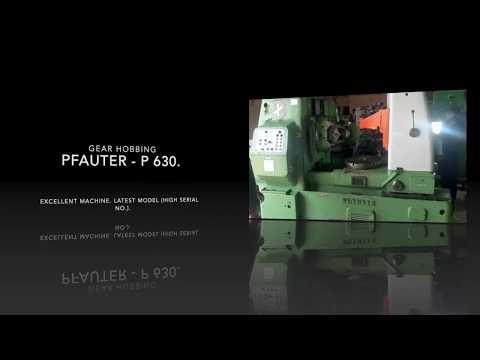 P630 Gear Hobbing Pfauter