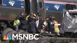 Congressman Brad Wenstrup And Other Doctors Rush To Aide Men Injured In Train Crash | MSNBC thumbnail