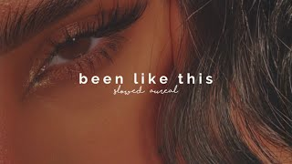doja cat - been like this (slowed + reverb)