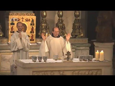 Vêpres et messe du 9 juin 2018
