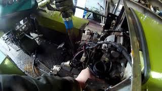 Минитрактор Булат ремонт продолжается часть 1