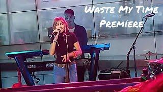Grace VanderWaal   Waste My Time (live)