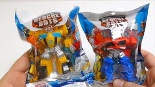 Transformers Toys Bumblebee & Optimus Prime - Rescue Bots