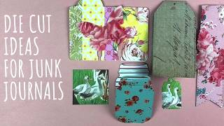 Die Cut Ideas For Junk Journals - Did You Know Your Die Cut Machine Can Do This?