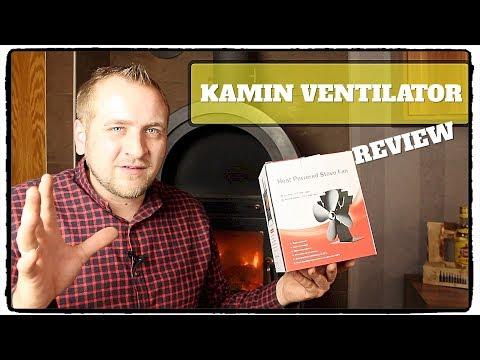 🔴 KLASSE KAMIN VENTILATOR STROMLOS TEST / FUNKTION / REVIEW / DEUTSCH