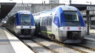 preview picture of video 'French Trains: at Gare d'Amiens, 25Sep14'