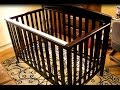 How to take apart and put together a 2016 Delta Children crib model 7312-207