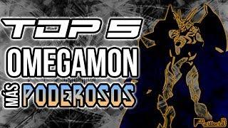 TOP 5 Omegamon MÁS Poderosos