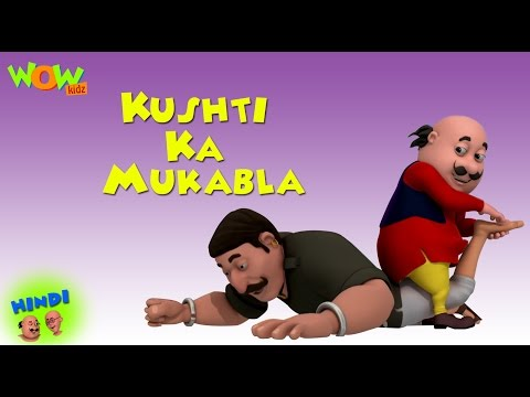 Kushti Ka Mukabla - Motu Patlu in Hindi WITH ENGLISH, SPANISH & FRENCH SUBTITLES